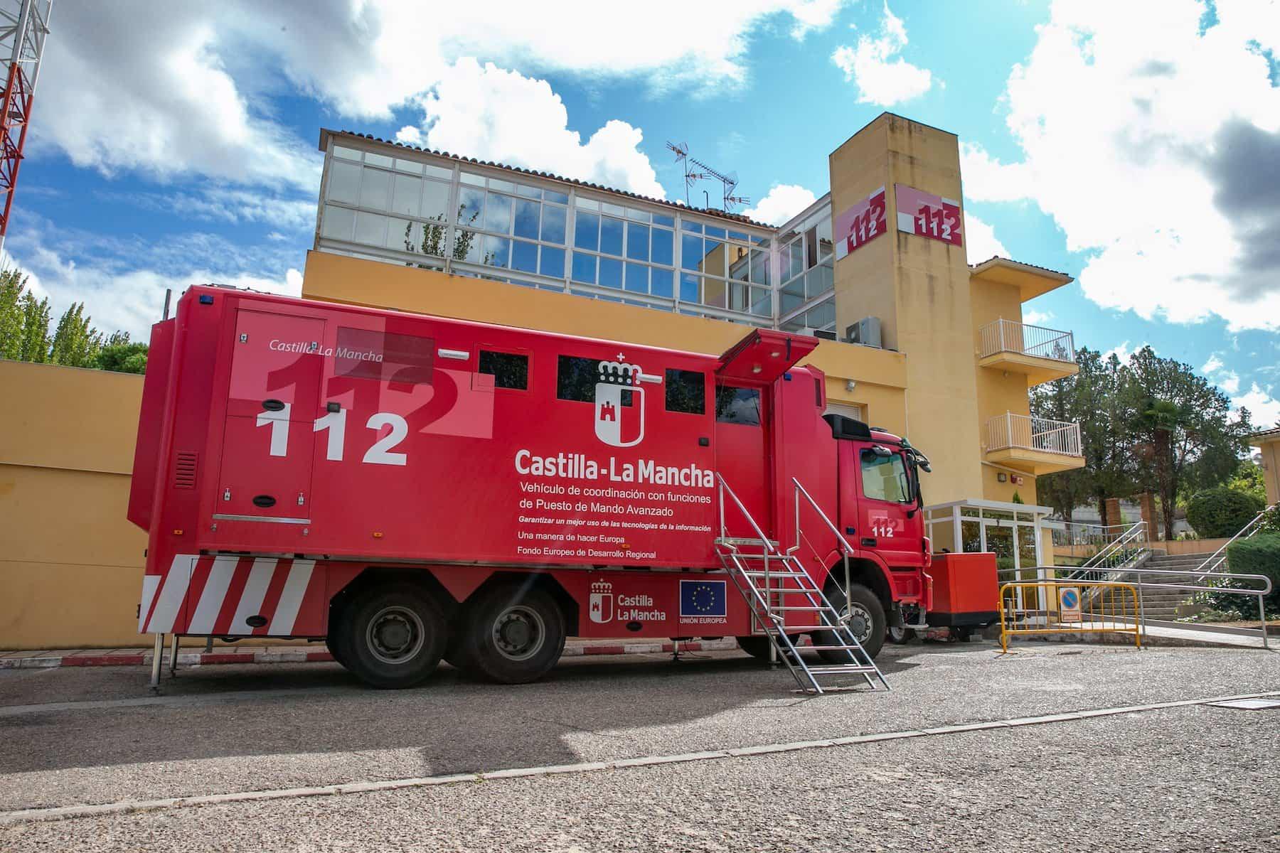 emergencias 112 - Alerta en toda Castilla-La Mancha por fuertes vientos y nevadas