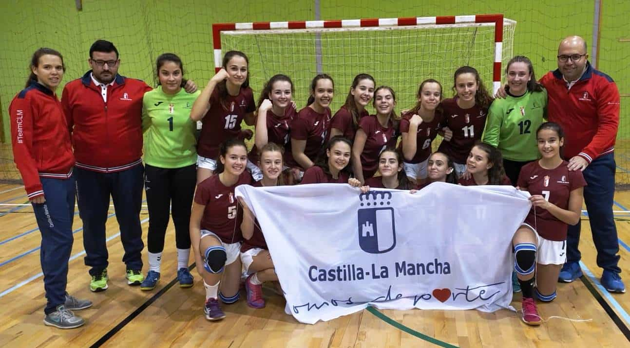 Herencia en el Campeonato de España de Balonmano Base 11