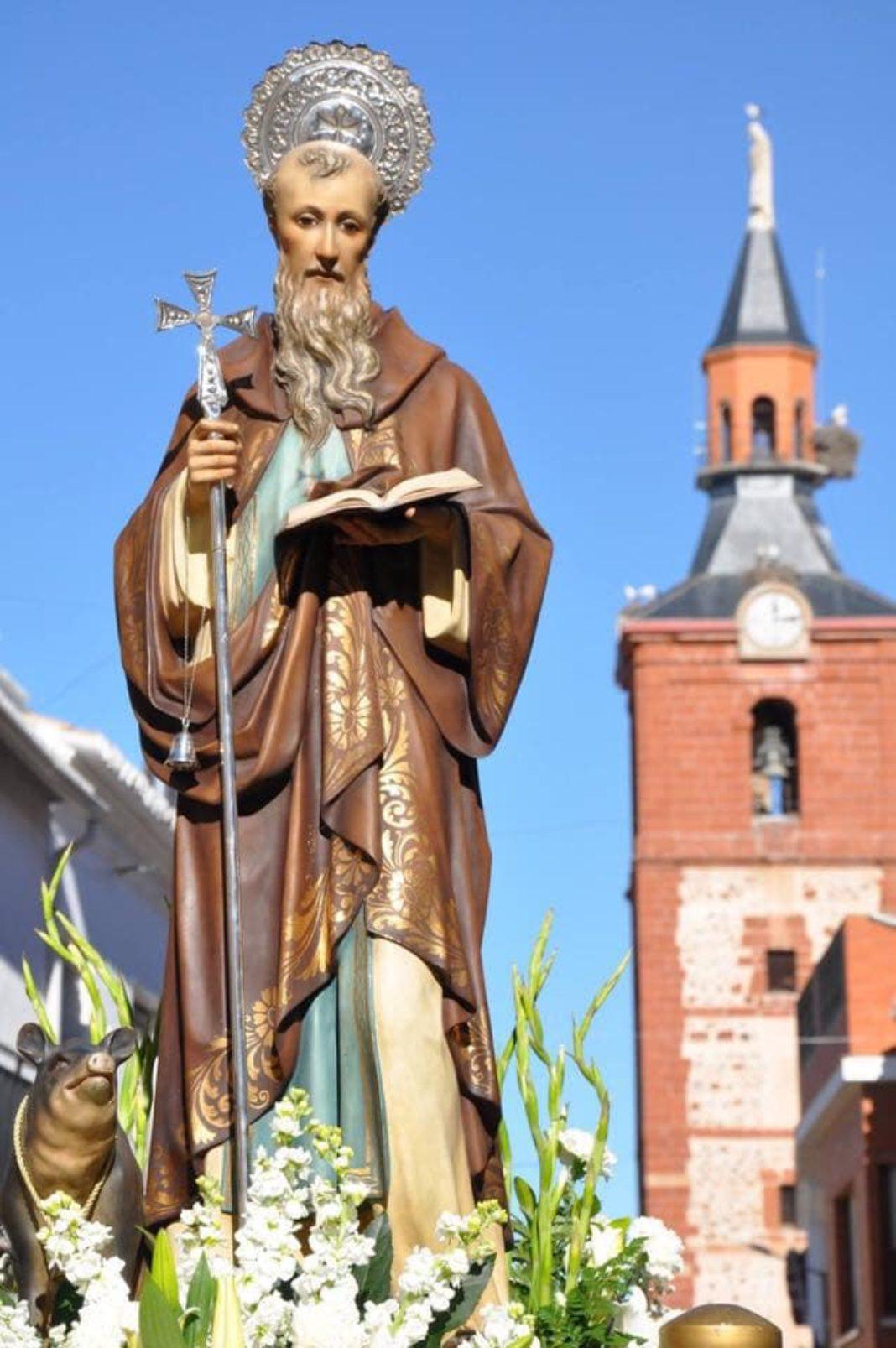 imagen de San Antón de Herencia 1068x1607 - Actos para celebrar la festividad de San Antón en Herencia