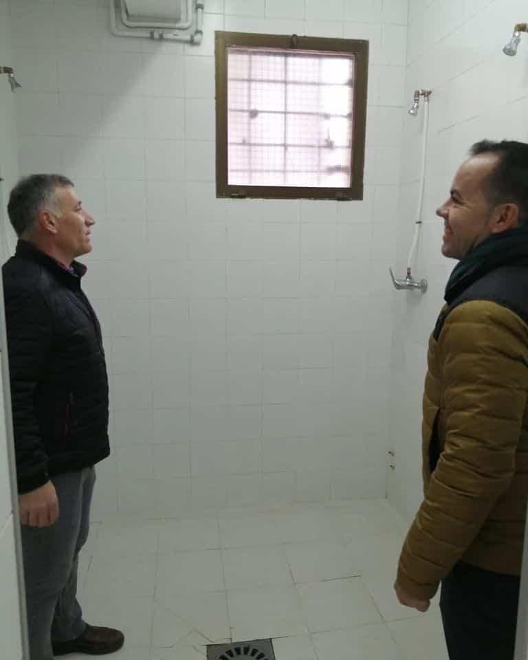 Mejoras en los vestuarios y aseos del Pabellón Polideportivo de Herencia 9