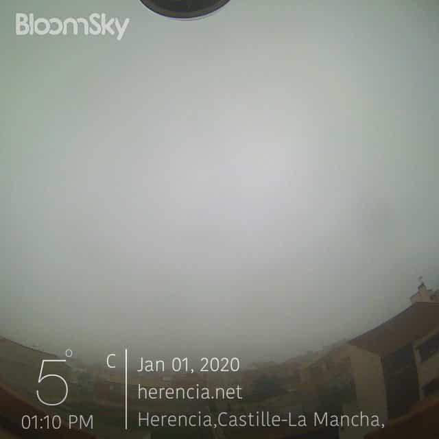 nieblas herencia 2020 - Herencia estrena el año nuevo 2020 con nieblas persistentes