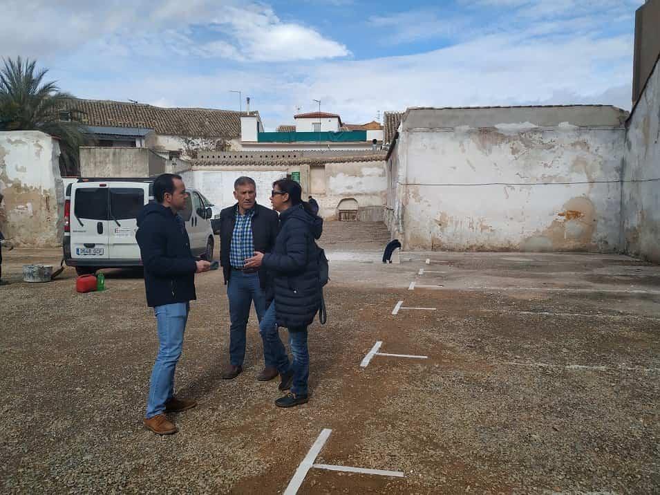 nuevo aparcamiento municipal - El Ayuntamiento de Herencia abre el viernes 31 de enero un nuevo aparcamiento público