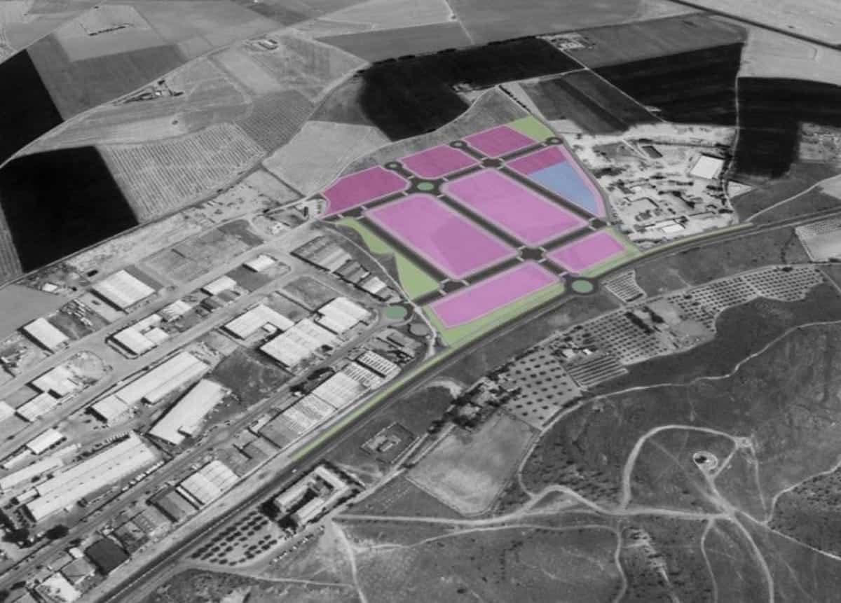 plano ampliacio poligono industrial herencia - Partido Popular de Herencia preocupados por el desarrollo del nuevo polígono industrial