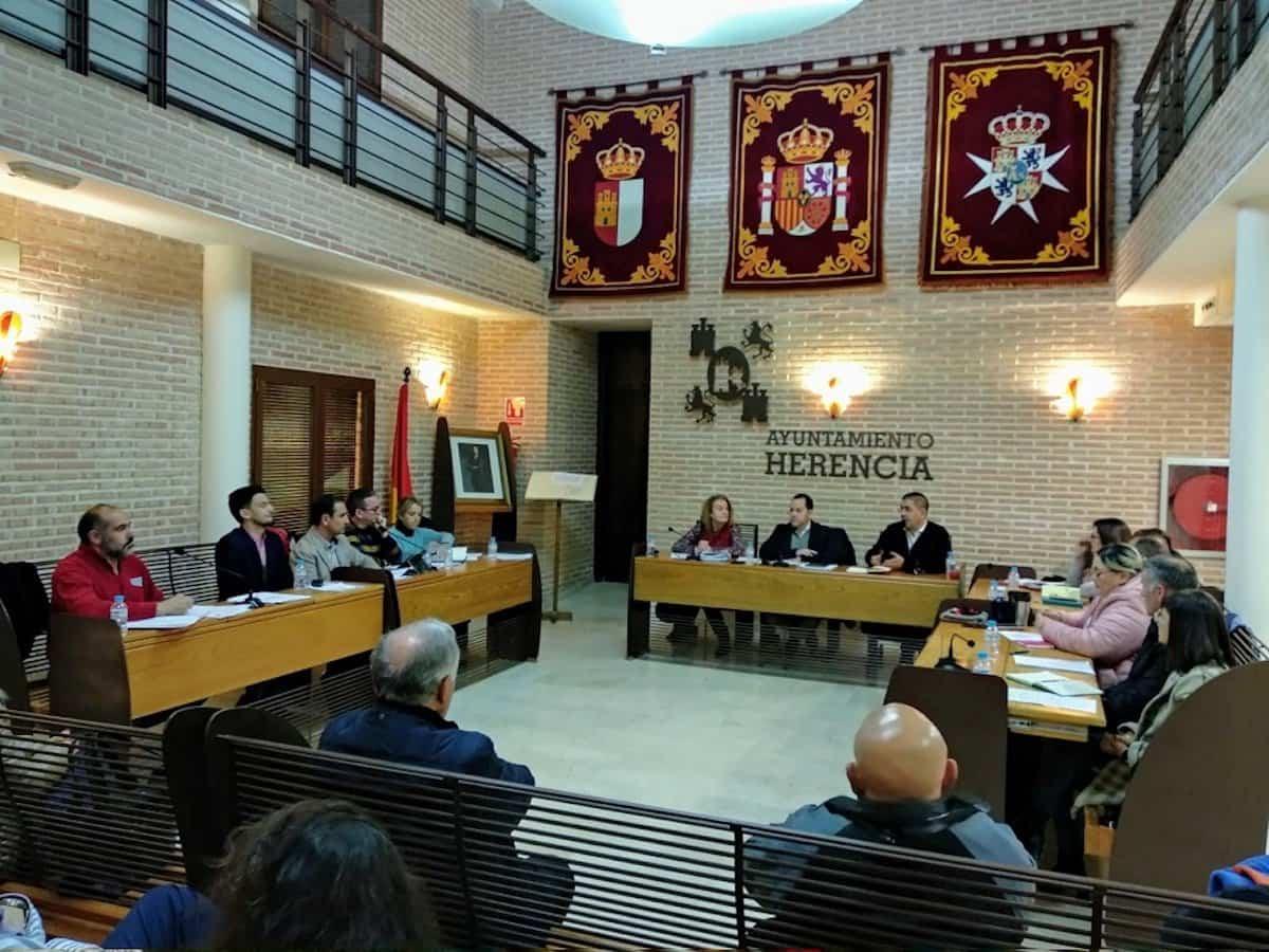 pleno herencia enero 2020 - La unanimidad de la Corporación Municipal marca la celebración de una nueva sesión plenaria