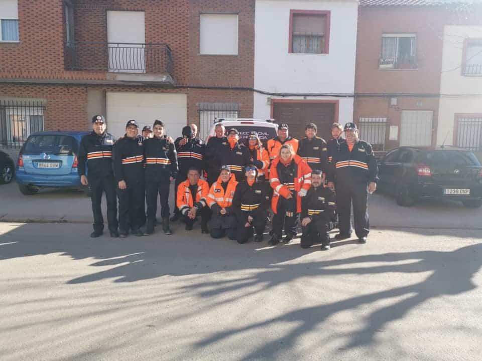 proteccion civil en carrera 2020 san anton - Celebrada la XIX Carrera Popular contra el cáncer en San Antón