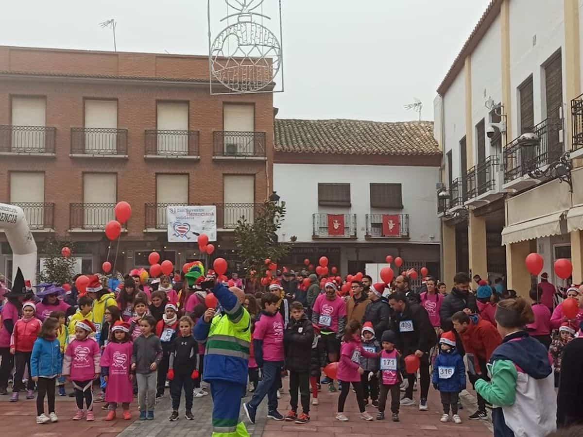 san silvestre 2019 herencia 2 - San Silvestre en Herencia para cerrar el año 2019