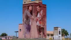 silo de Herencia pintado por Fintan Magee 246x138 - Herencia presentó parte de su potencial turístico en FITUR