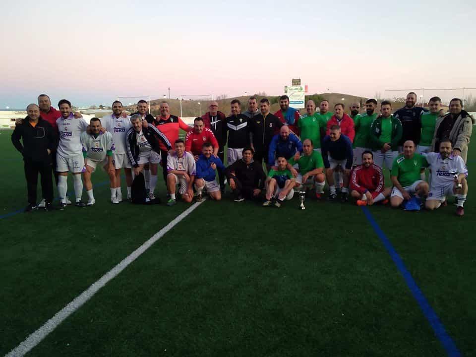 torneo futbol veteranos 2019 - El II Torneo de Fútbol de Veterano clausura las navidades deportivas de Herencia