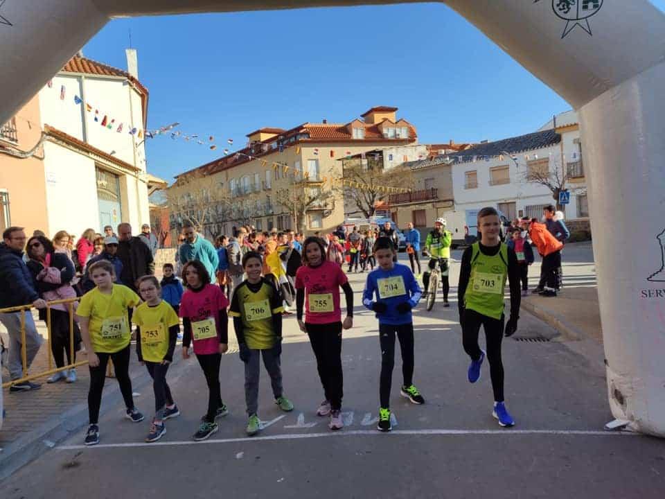 Celebrada la XIX Carrera Popular contra el cáncer en San Antón 12