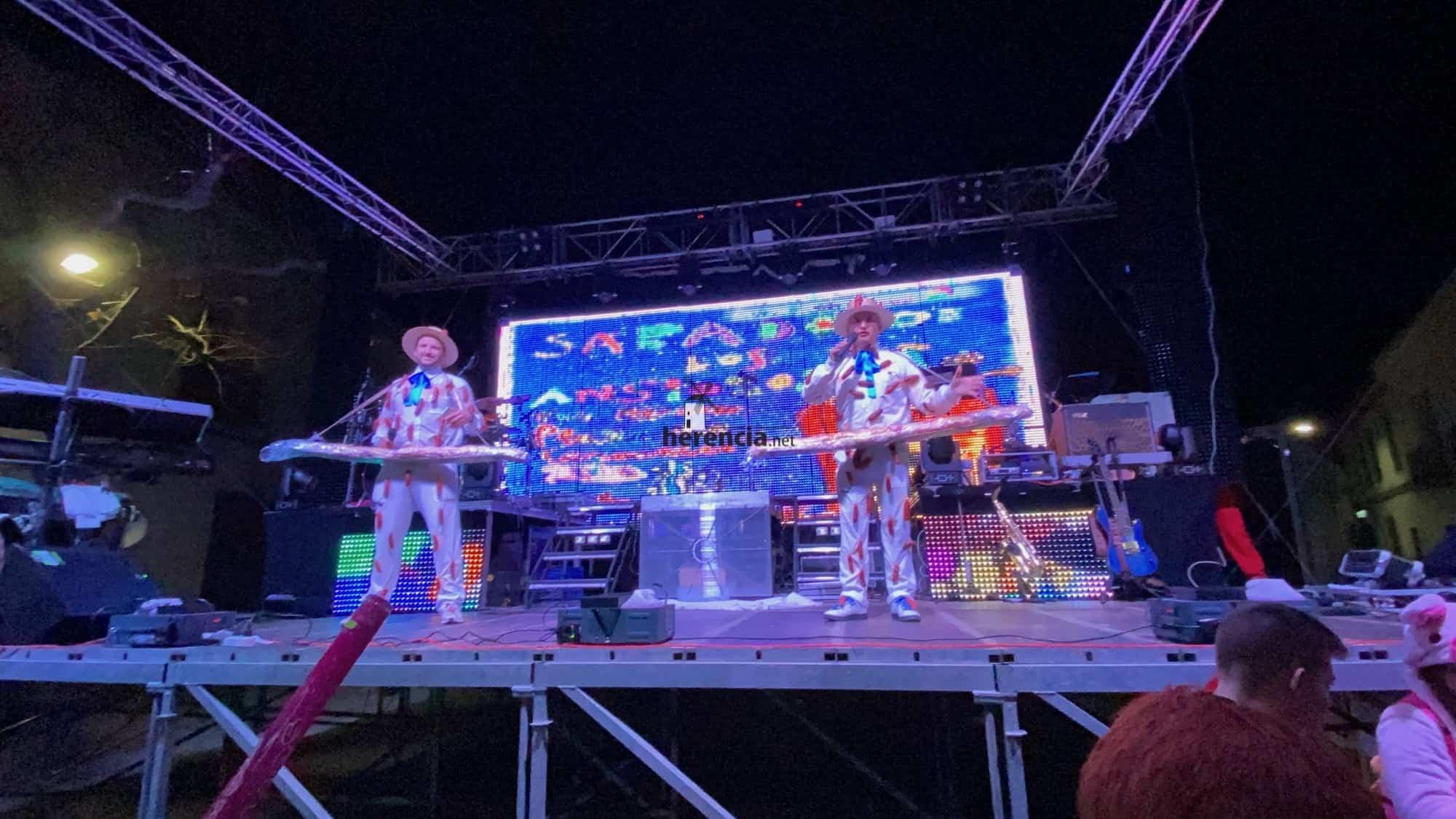 Inaugurado el Carnaval de Herencia 2020 con el Sábado de los Ansiosos 26