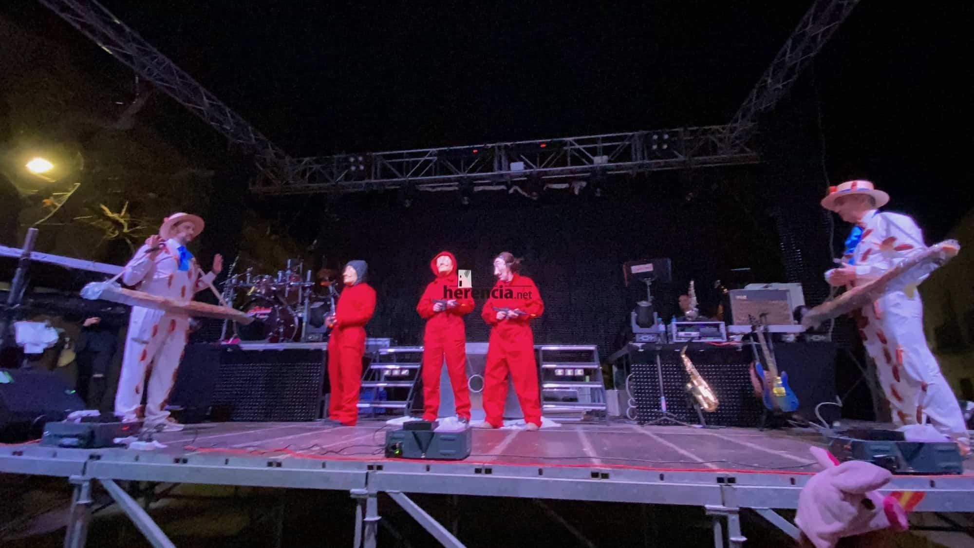 Inaugurado el Carnaval de Herencia 2020 con el Sábado de los Ansiosos 27