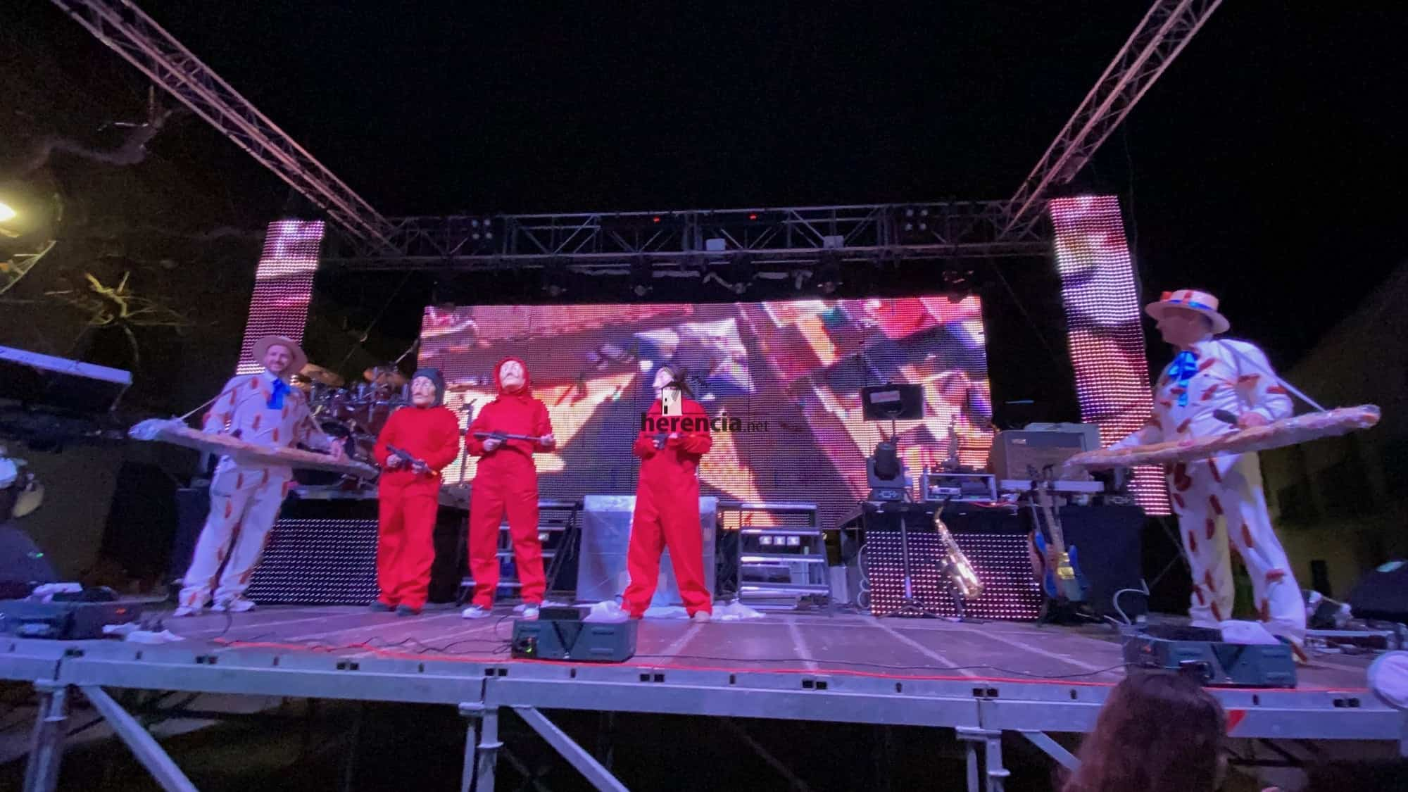 Inaugurado el Carnaval de Herencia 2020 con el Sábado de los Ansiosos 29