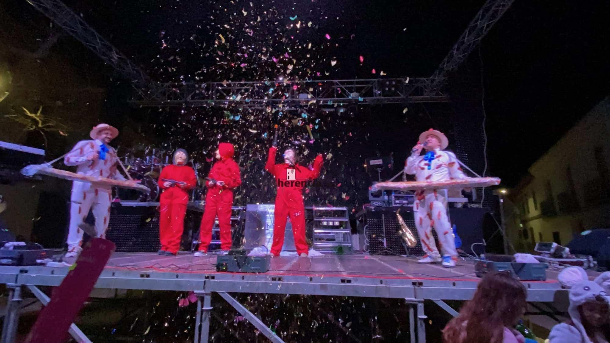 Inaugurado el Carnaval de Herencia 2020 con el Sábado de los Ansiosos 30