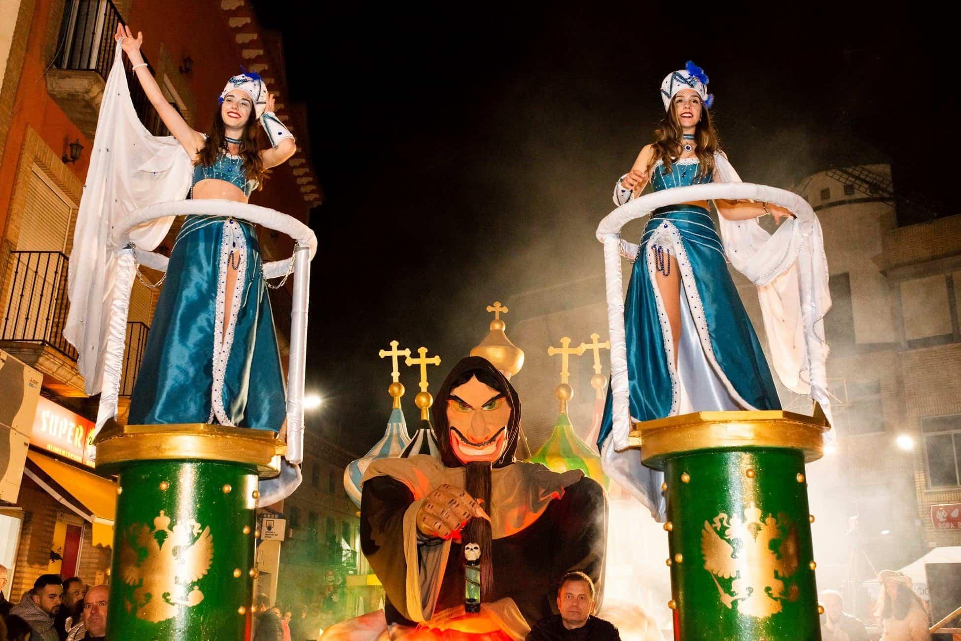 Selección de fotografías del Ofertorio del Carnaval de Herencia 459