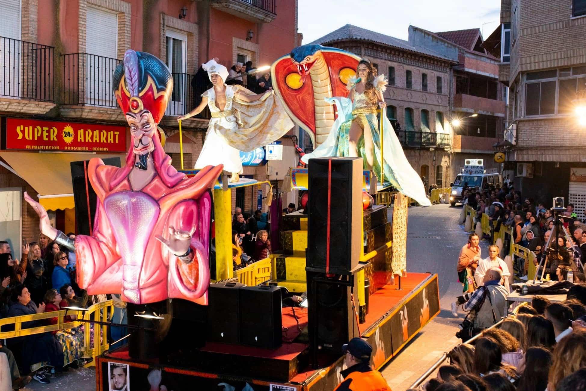 Selección de fotografías del Ofertorio del Carnaval de Herencia 442