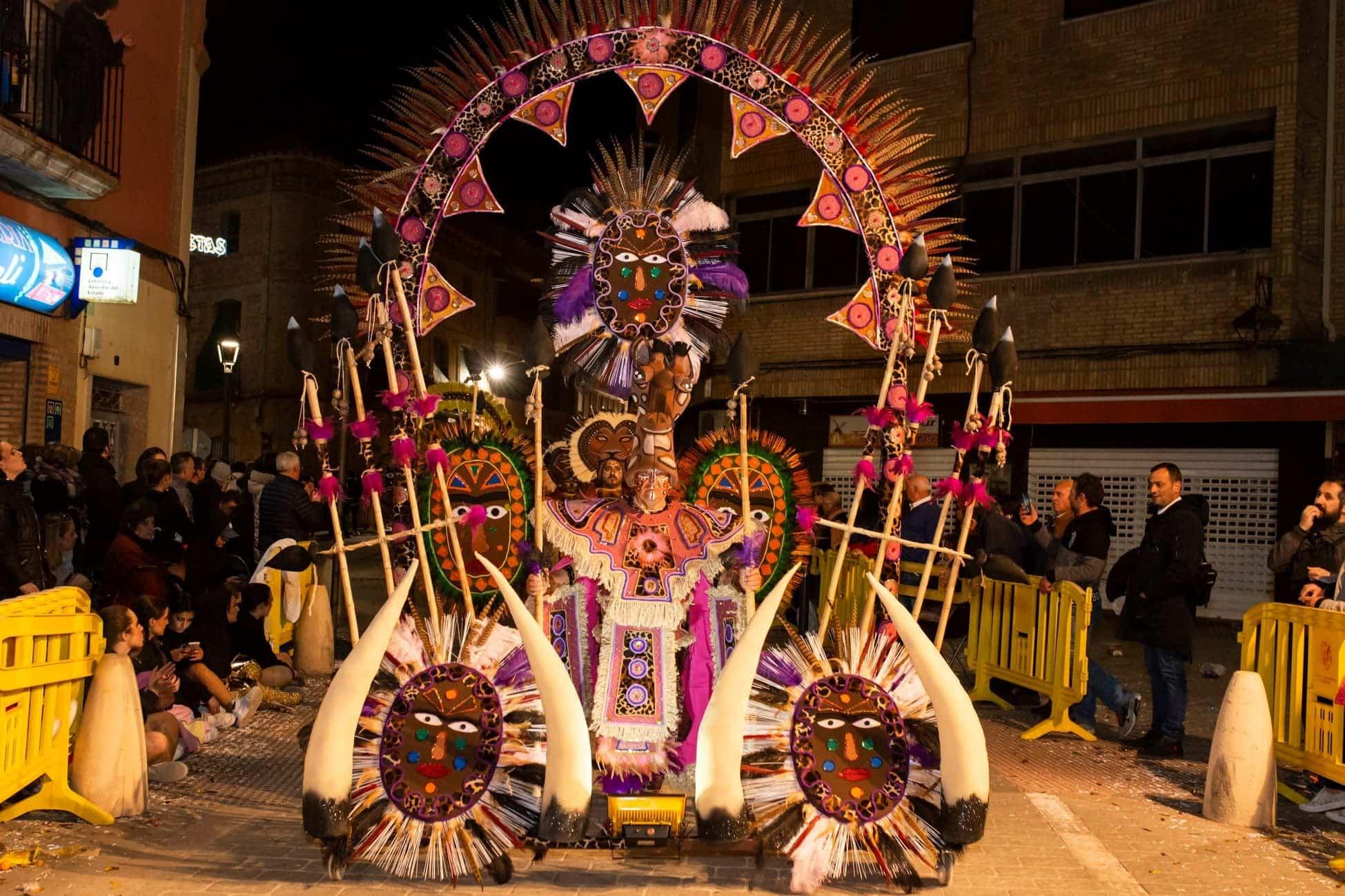 Selección de fotografías del Ofertorio del Carnaval de Herencia 420