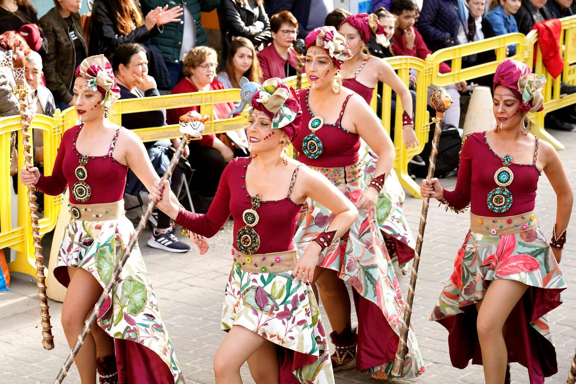 Selección de fotografías del Ofertorio del Carnaval de Herencia 538