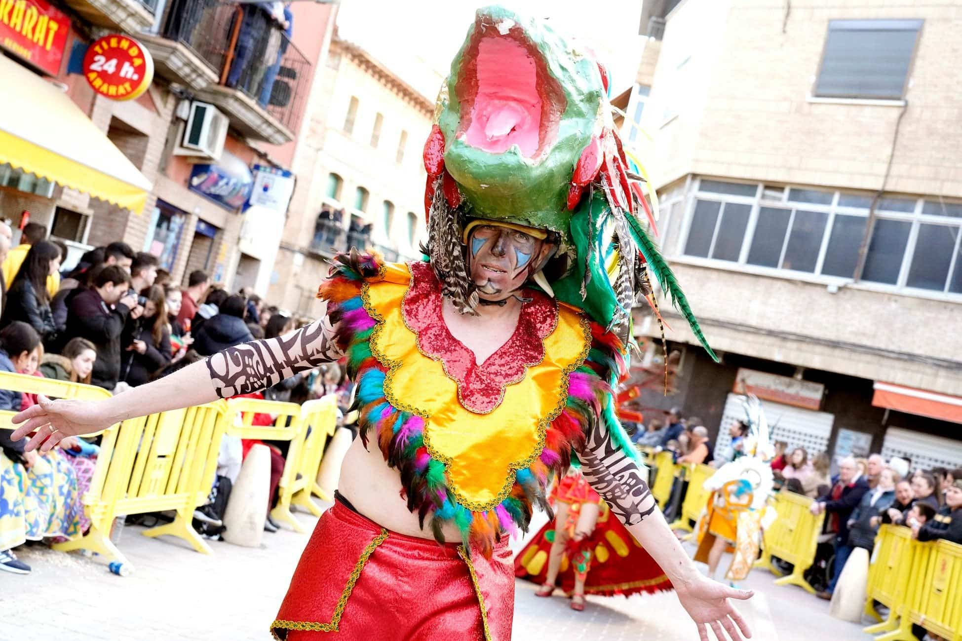 Selección de fotografías del Ofertorio del Carnaval de Herencia 527