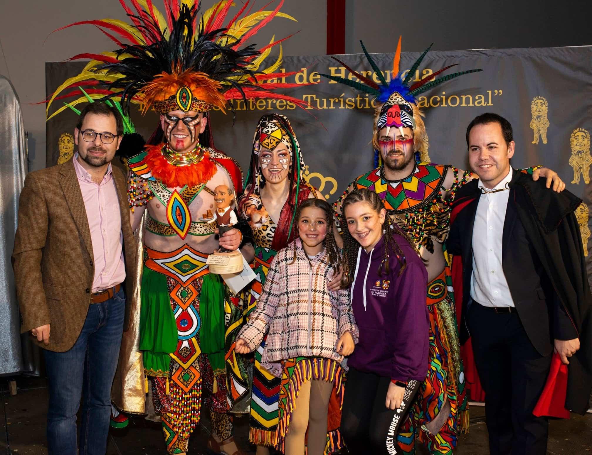 Selección de fotografías del Ofertorio del Carnaval de Herencia 558