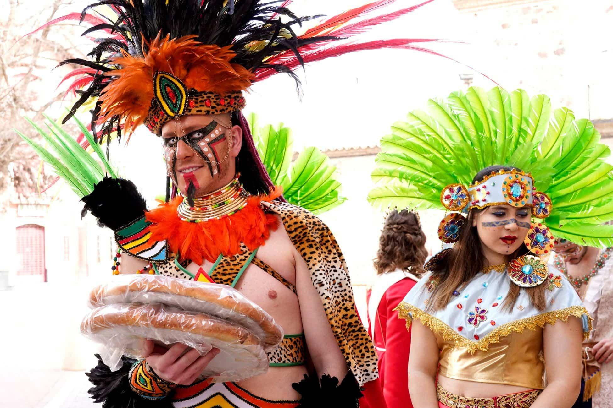 Selección de fotografías del Ofertorio del Carnaval de Herencia 512