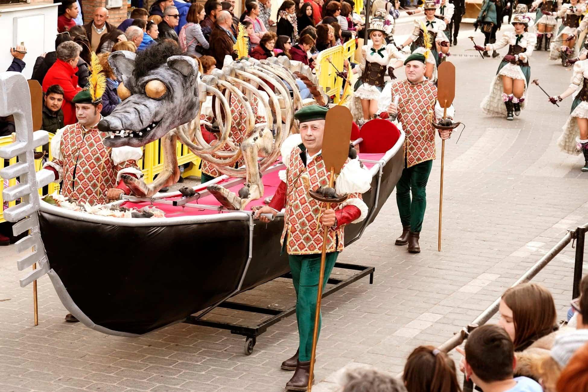 Selección de fotografías del Ofertorio del Carnaval de Herencia 509