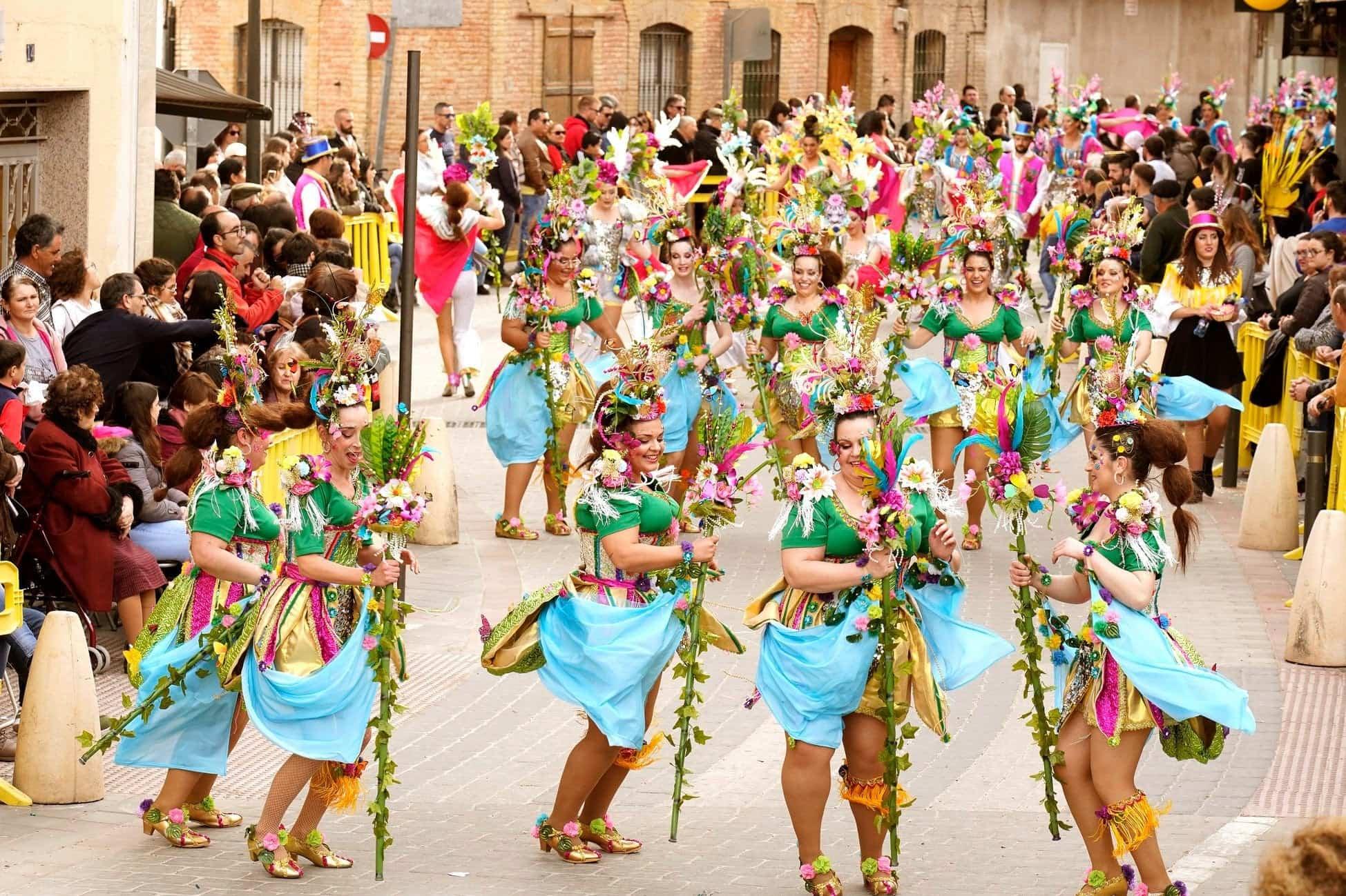 Selección de fotografías del Ofertorio del Carnaval de Herencia 556