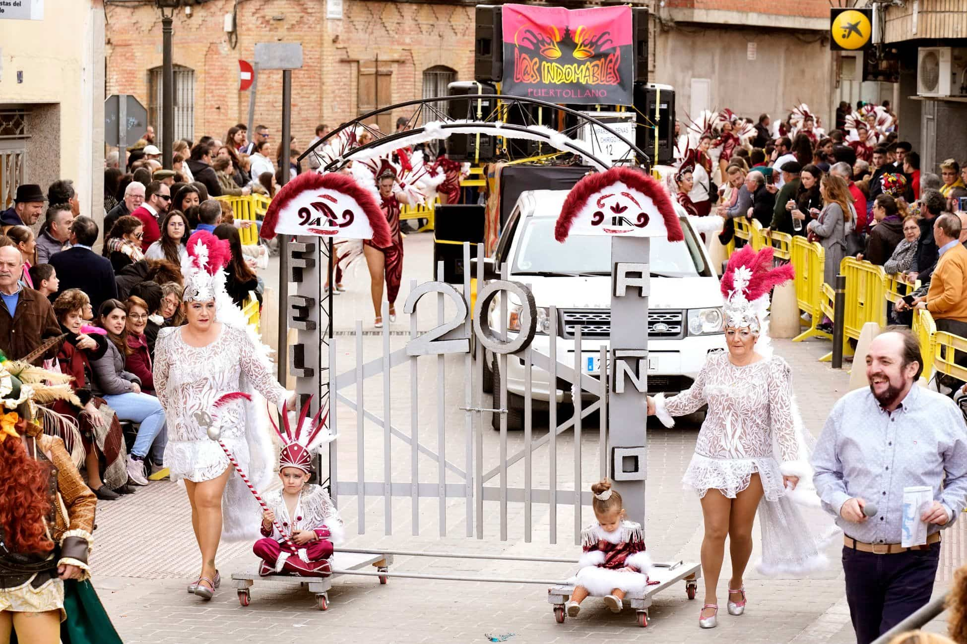 Selección de fotografías del Ofertorio del Carnaval de Herencia 502