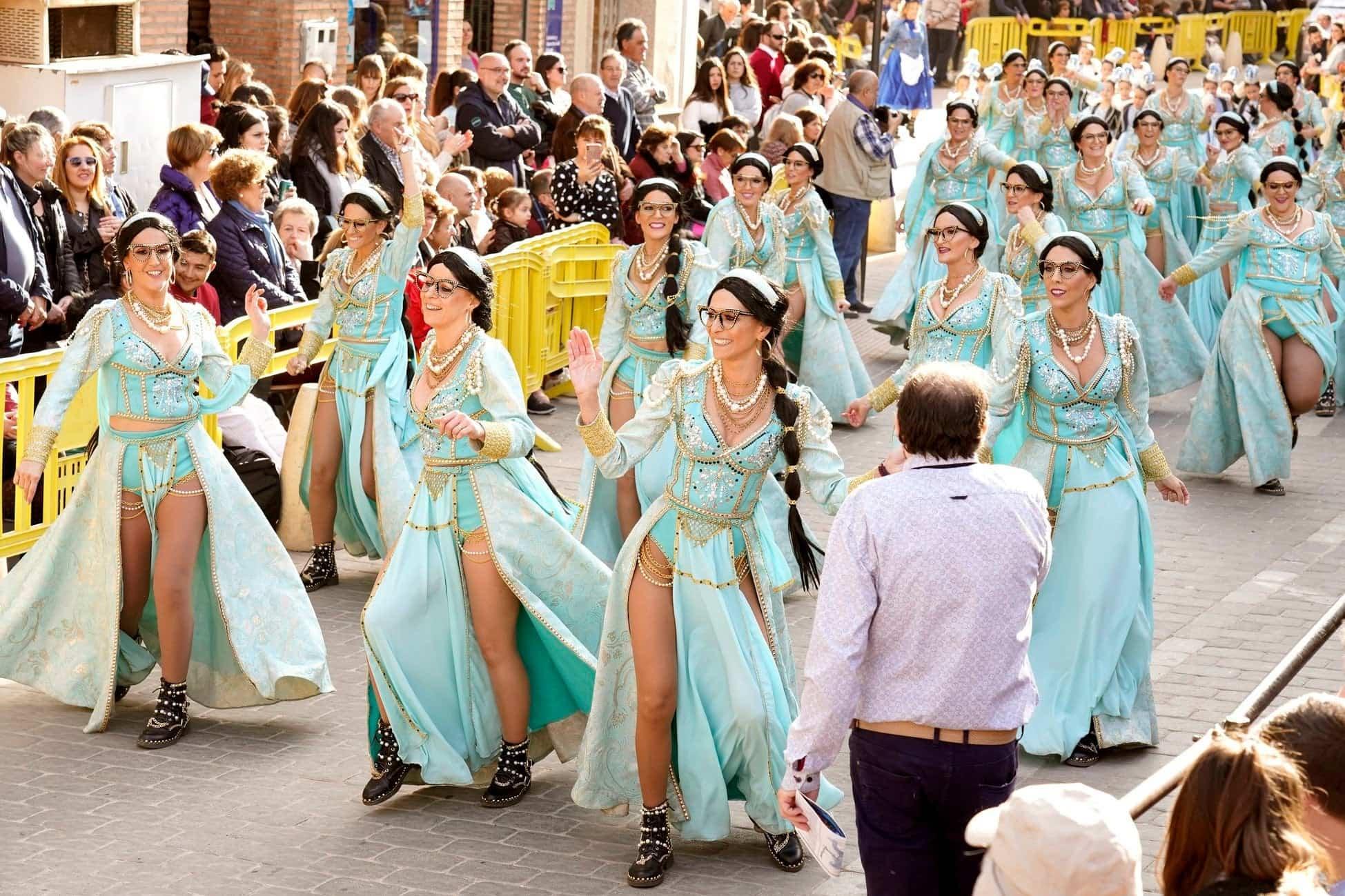 Selección de fotografías del Ofertorio del Carnaval de Herencia 491