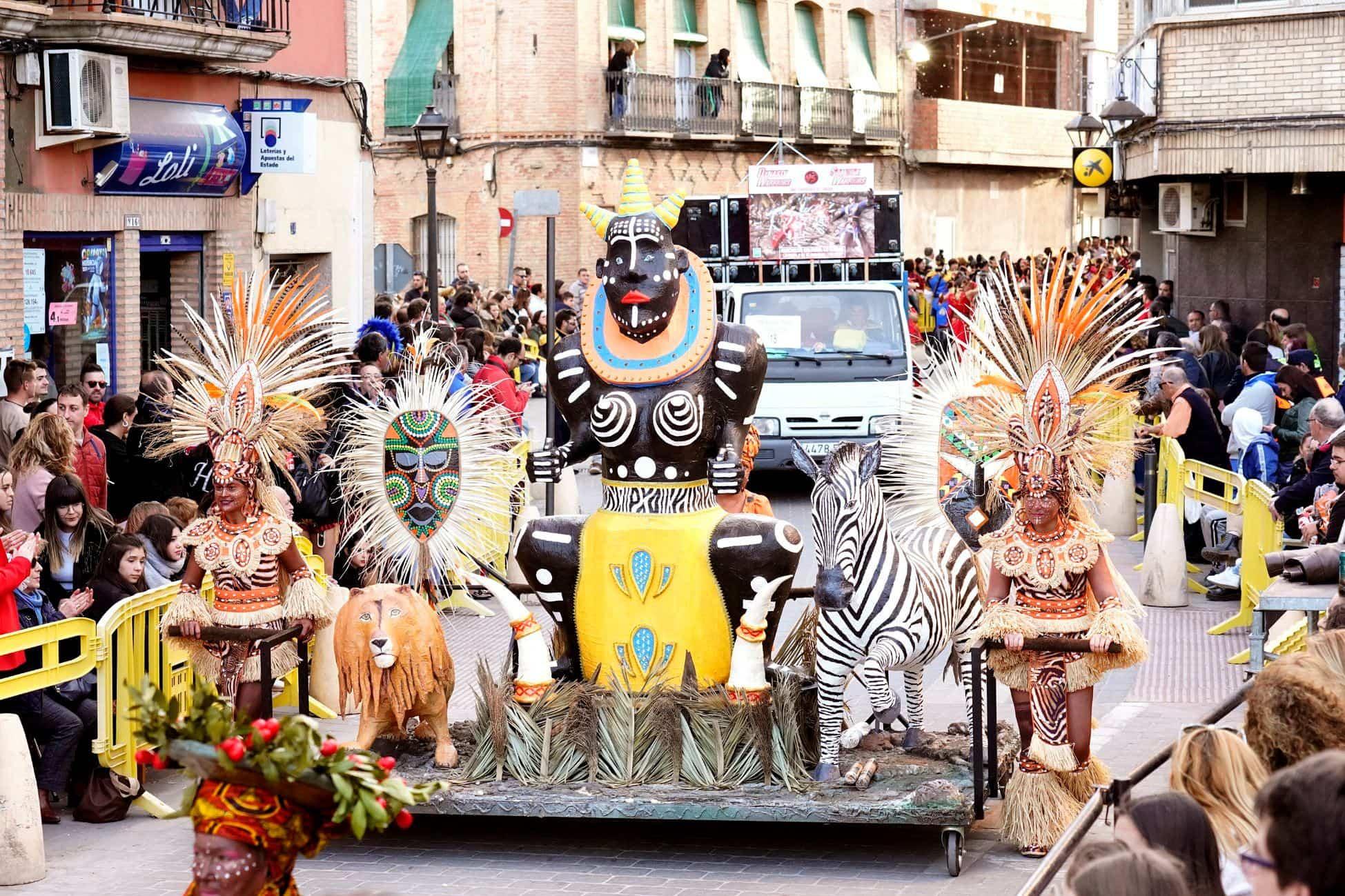 Selección de fotografías del Ofertorio del Carnaval de Herencia 485
