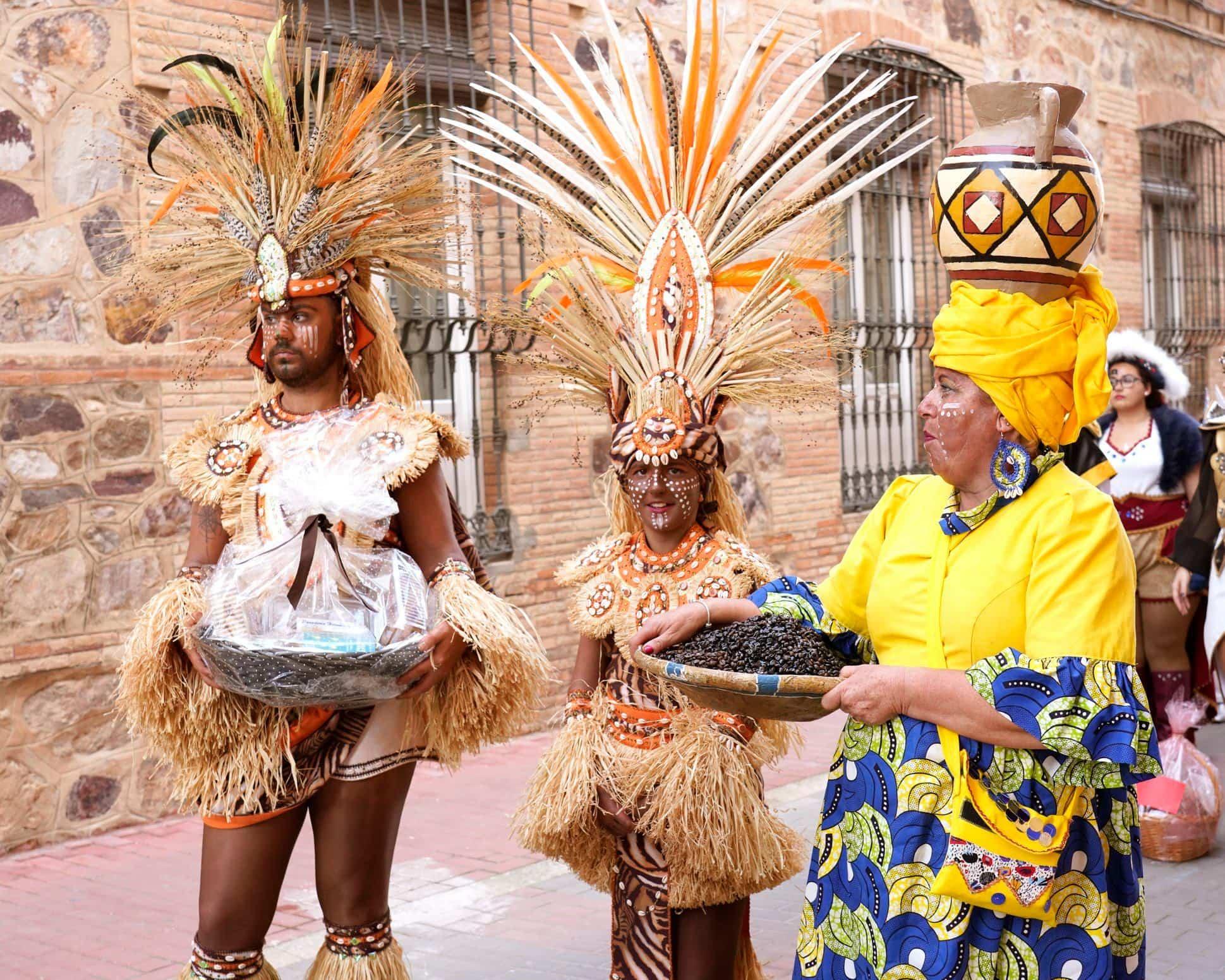 Selección de fotografías del Ofertorio del Carnaval de Herencia 469