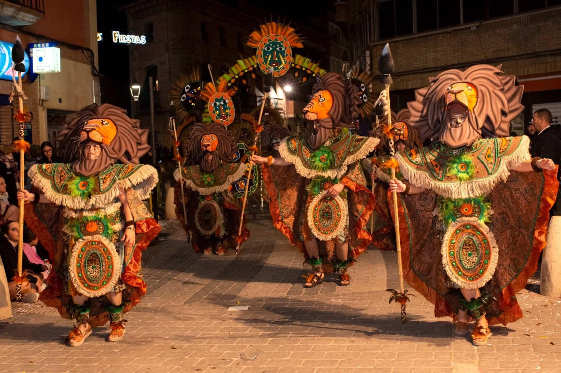 Selección de fotografías del Ofertorio del Carnaval de Herencia 463