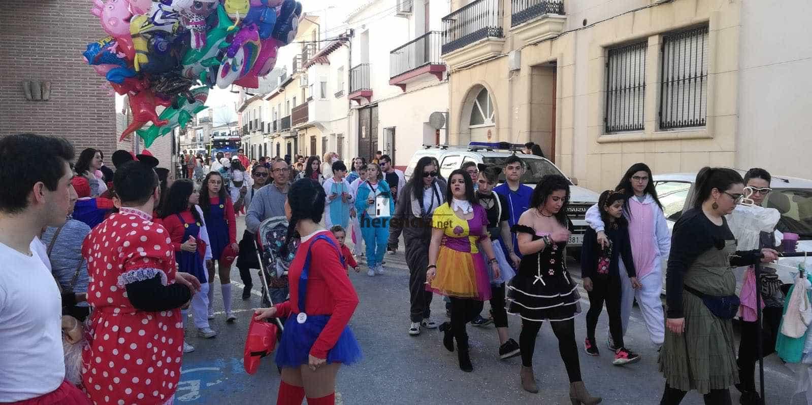 Carnaval herencia 2020 pasacalles domingo deseosas 11 - El Domingo de las Deseosas invita a todo el mundo al Carnaval de Herencia