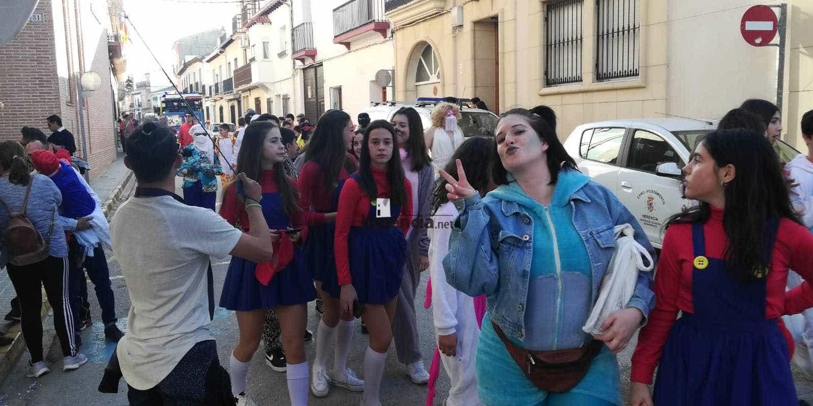 Carnaval herencia 2020 pasacalles domingo deseosas 2 - El Domingo de las Deseosas invita a todo el mundo al Carnaval de Herencia