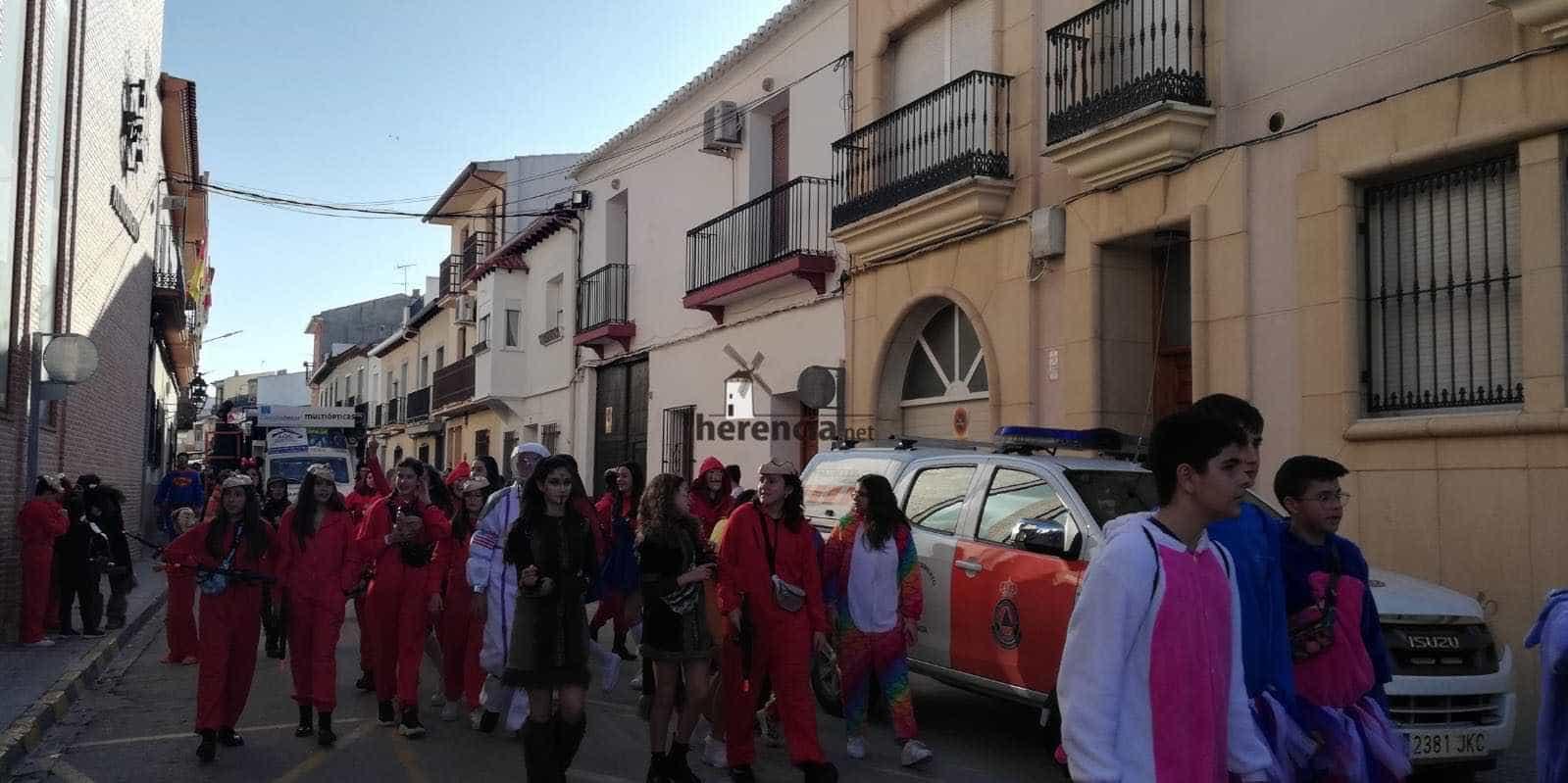 Carnaval herencia 2020 pasacalles domingo deseosas 4 - El Domingo de las Deseosas invita a todo el mundo al Carnaval de Herencia