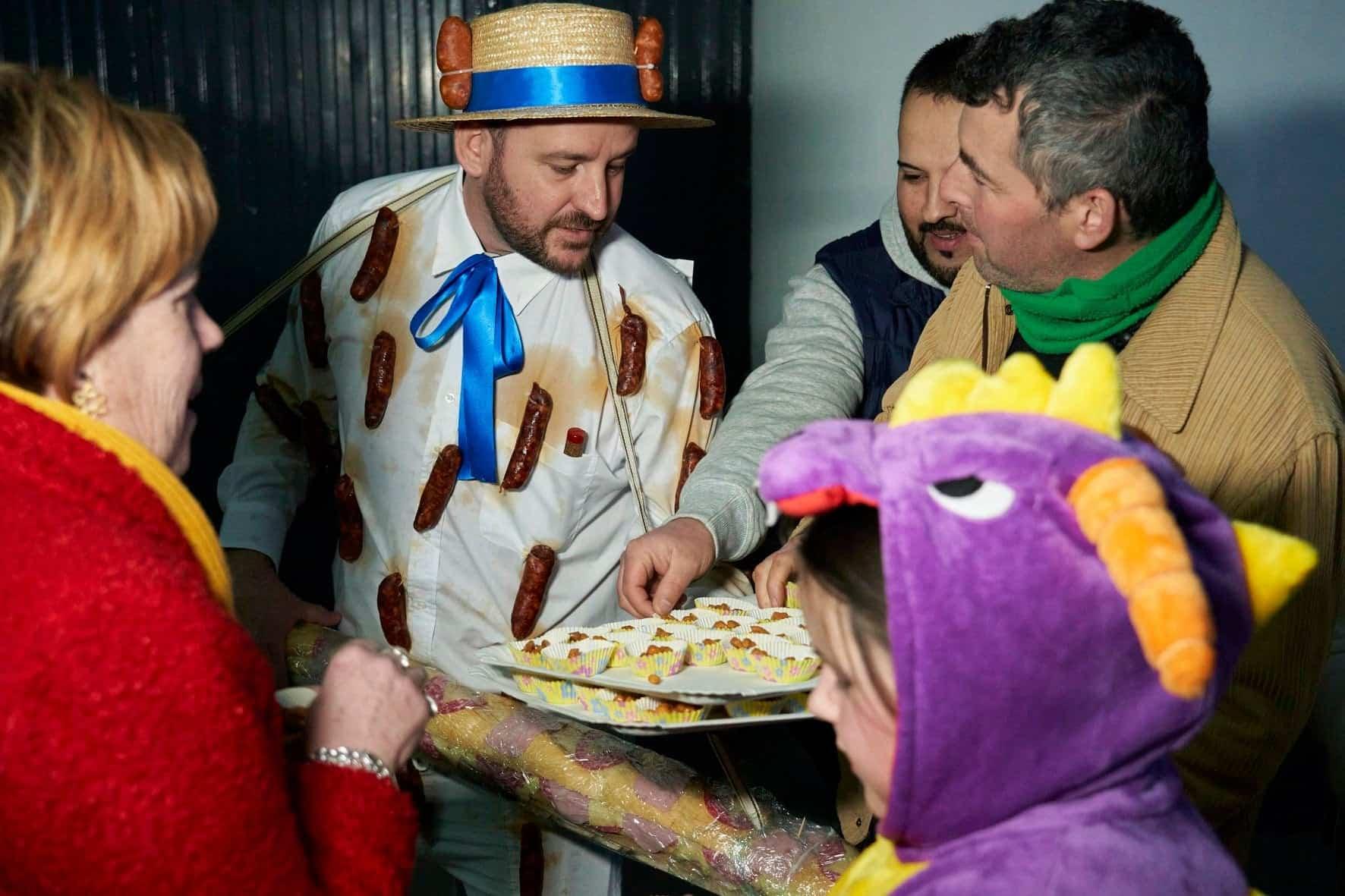 Fotografías del Sábado de los Ansiosos del Carnaval de Herencia 2020 45