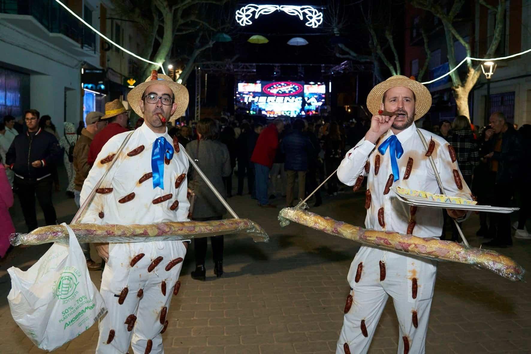 Fotografías del Sábado de los Ansiosos del Carnaval de Herencia 2020 33