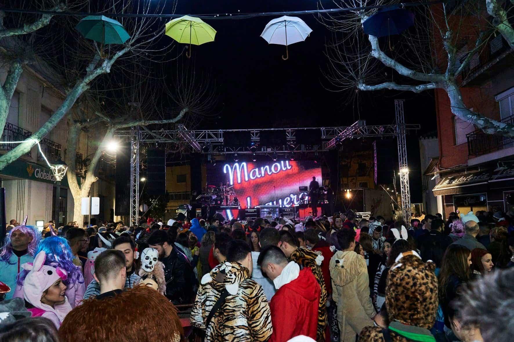 Fotografías del Sábado de los Ansiosos del Carnaval de Herencia 2020 35