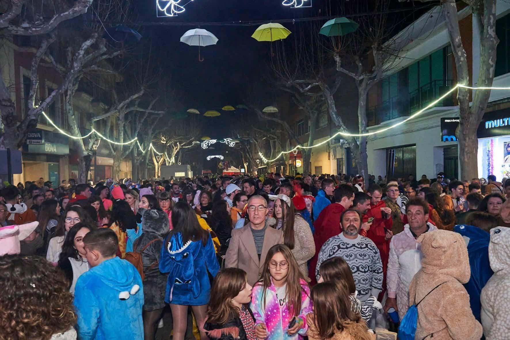 Fotografías del Sábado de los Ansiosos del Carnaval de Herencia 2020 39