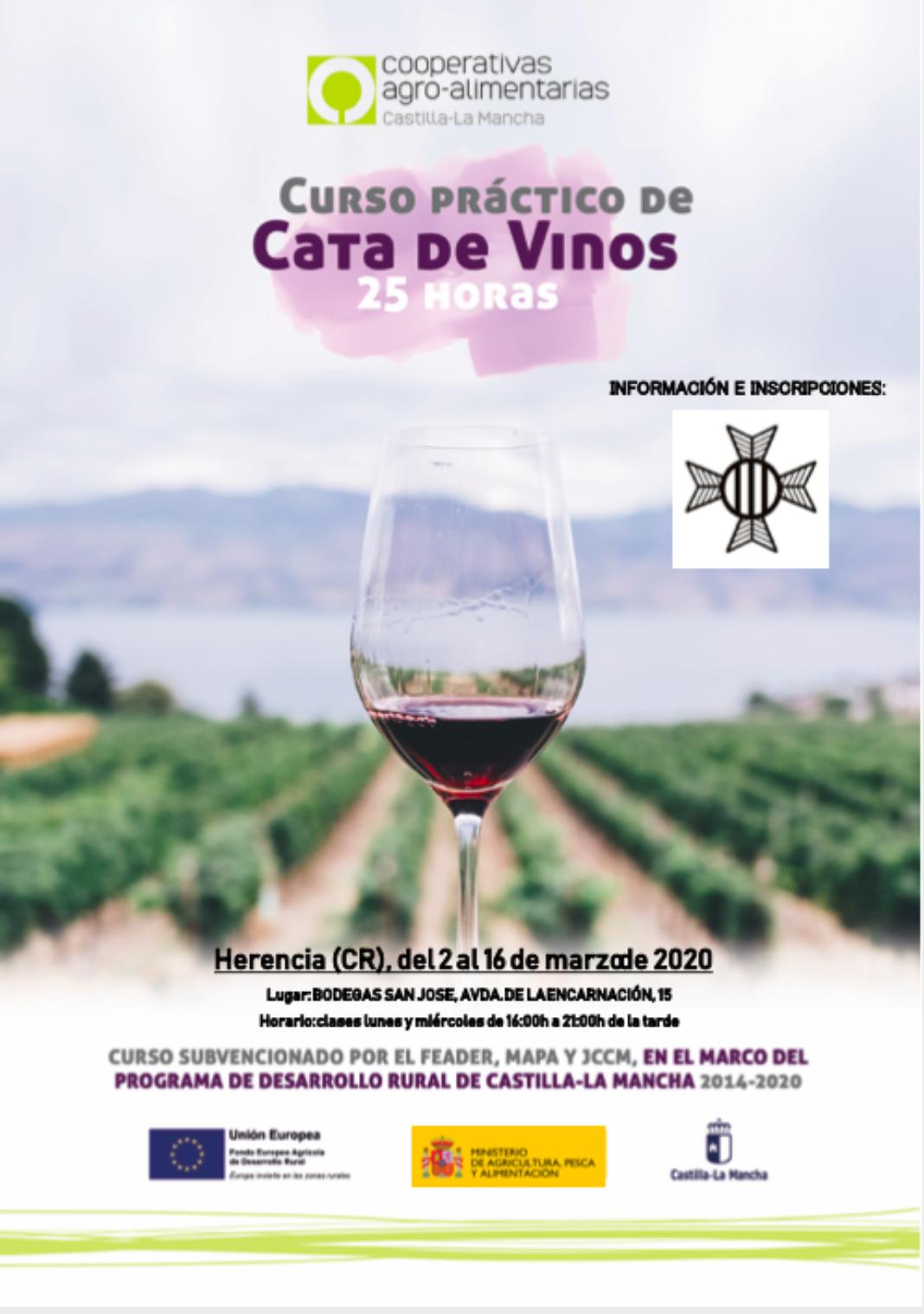 Cata de vinos. Herencia 2 16marzo 030220 1068x1518 - Curso práctico de cata de vinos en la cooperativa San José