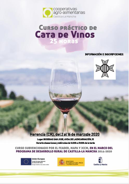 Curso práctico de cata de vinos en la cooperativa San José 3