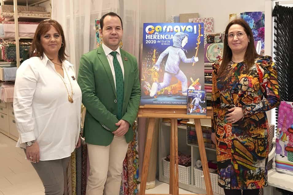 Presentacion Carnaval 2020 0072 - El actor Salva Reina pregonará un Carnaval de Herencia de Interés Turístico Nacional