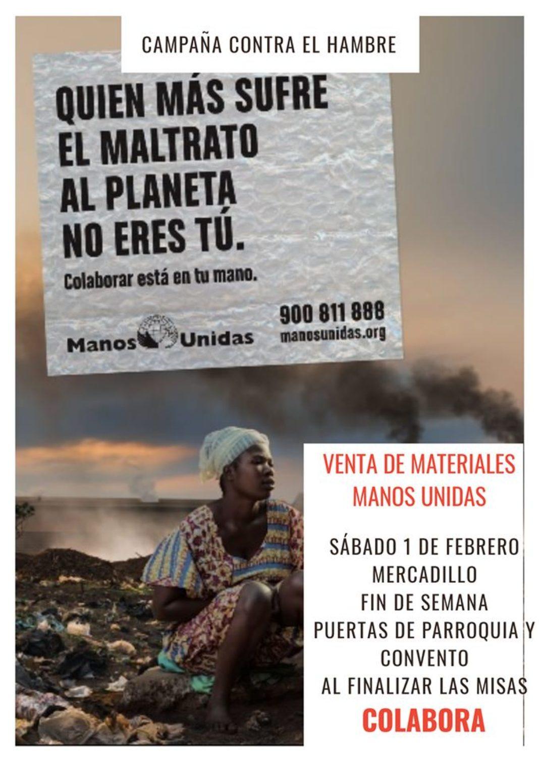 campaña de manos unidas Herencia 1068x1512 - Inicio de la Campaña Contra el Hambre de Manos Unidas en Herencia