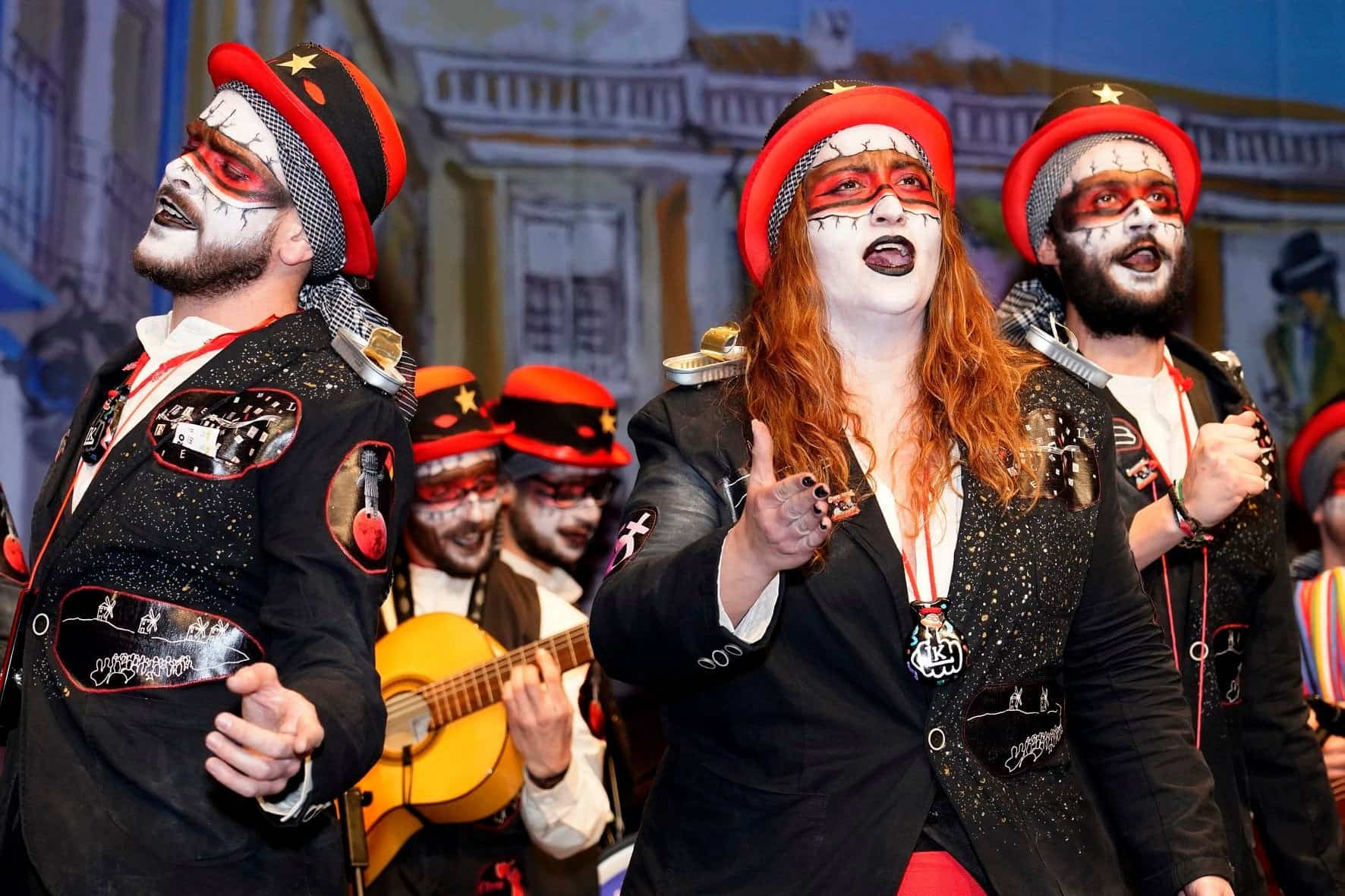 "Los Pelendengues abren el Carnaval de Herencia 2020 e invitan a ""La Kanalla"" 41"