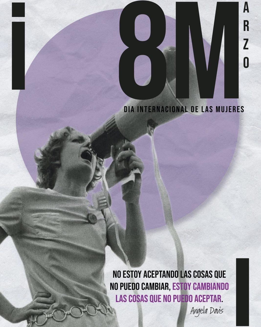 cartel dia mujer 8M 1068x1335 - Este es el cartel ganador del Concurso de carteles del 8M