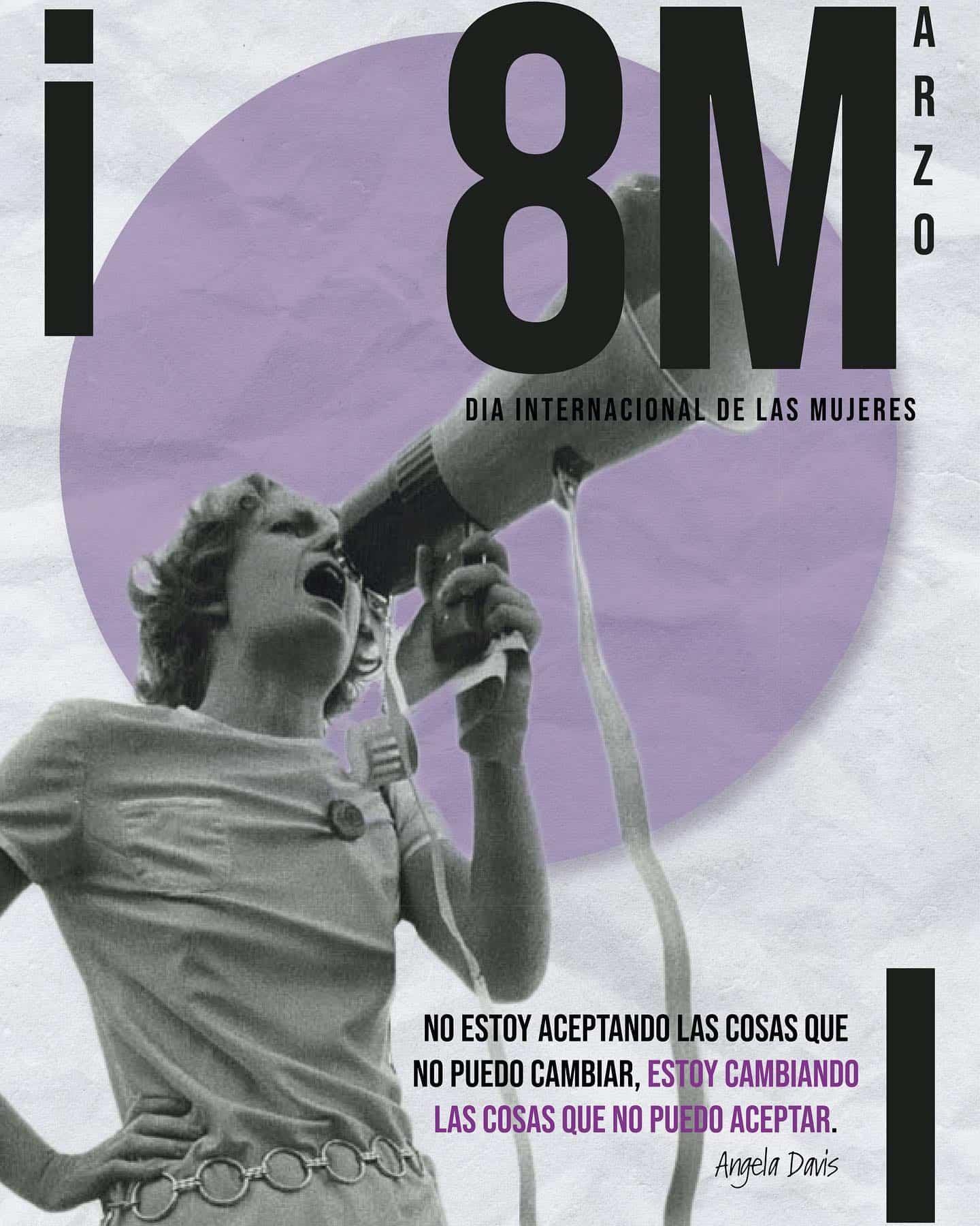 cartel dia mujer 8M - Este es el cartel ganador del Concurso de carteles del 8M