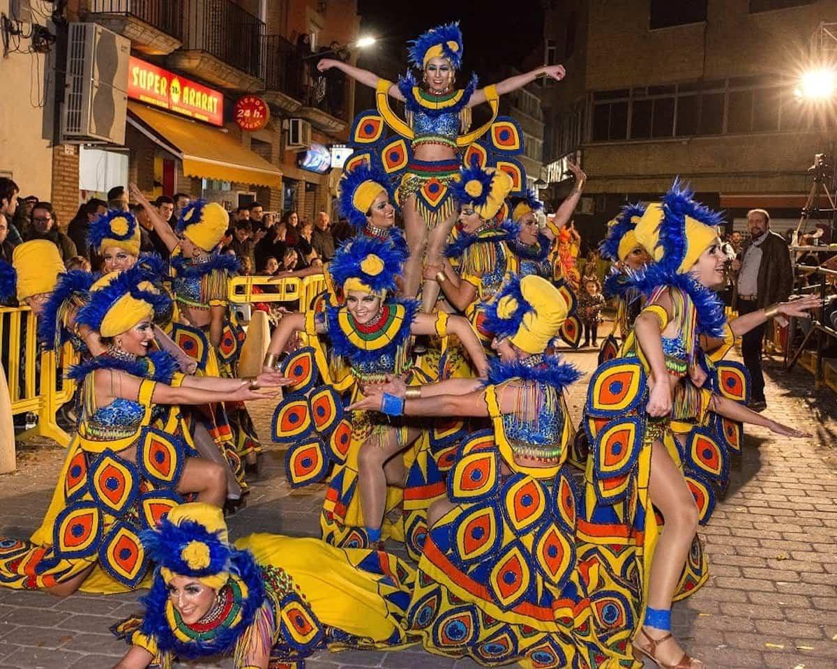 dia ofertorio herencia 2 carnaval - Herencia celebra su multitudinario Ofertorio con 42 agrupaciones participantes y más de 7 horas de desfile
