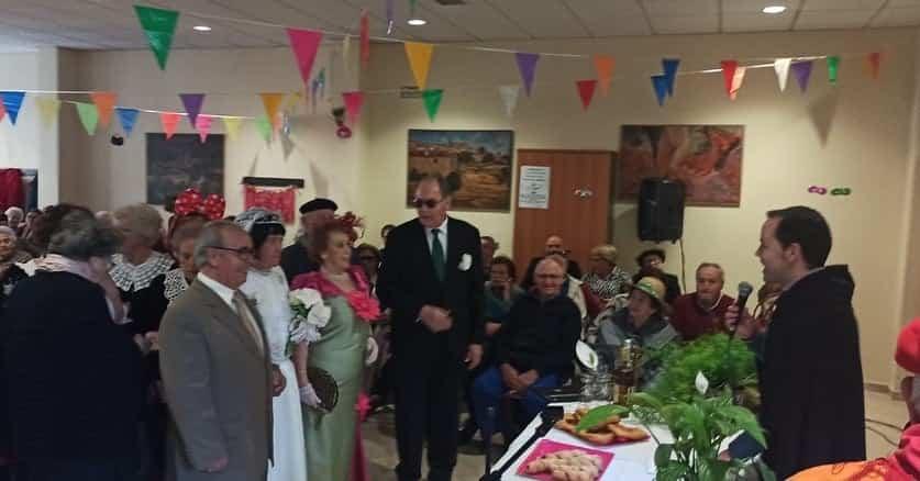 Los mayores también disfrutarón del Carnaval el pasado miércoles 16