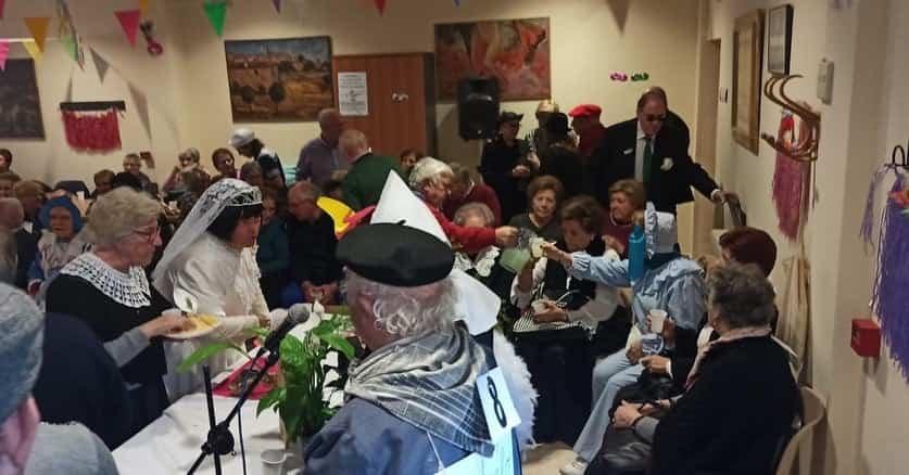 Los mayores también disfrutarón del Carnaval el pasado miércoles 17