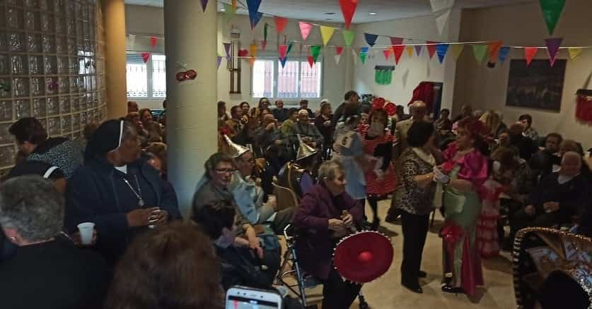 Los mayores también disfrutarón del Carnaval el pasado miércoles 19