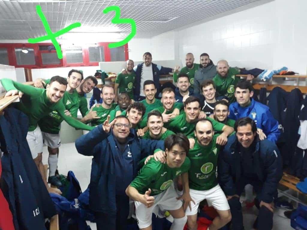 herencia cf celebra victoria cd piedrabuena - El Herencia C.F. supera al C.D. Piedrabuena 3-0 en un sábado redondo